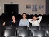 Proben und Warm-Up des Kom(m)ödchen Ensembles