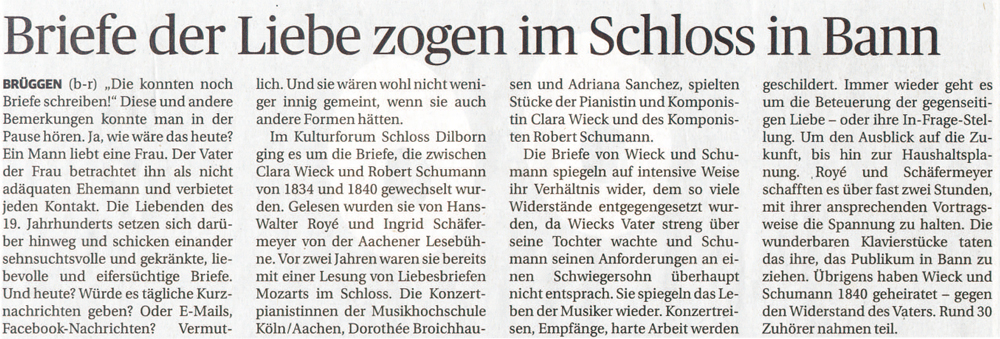 Rheinische Post am 02.07.2013