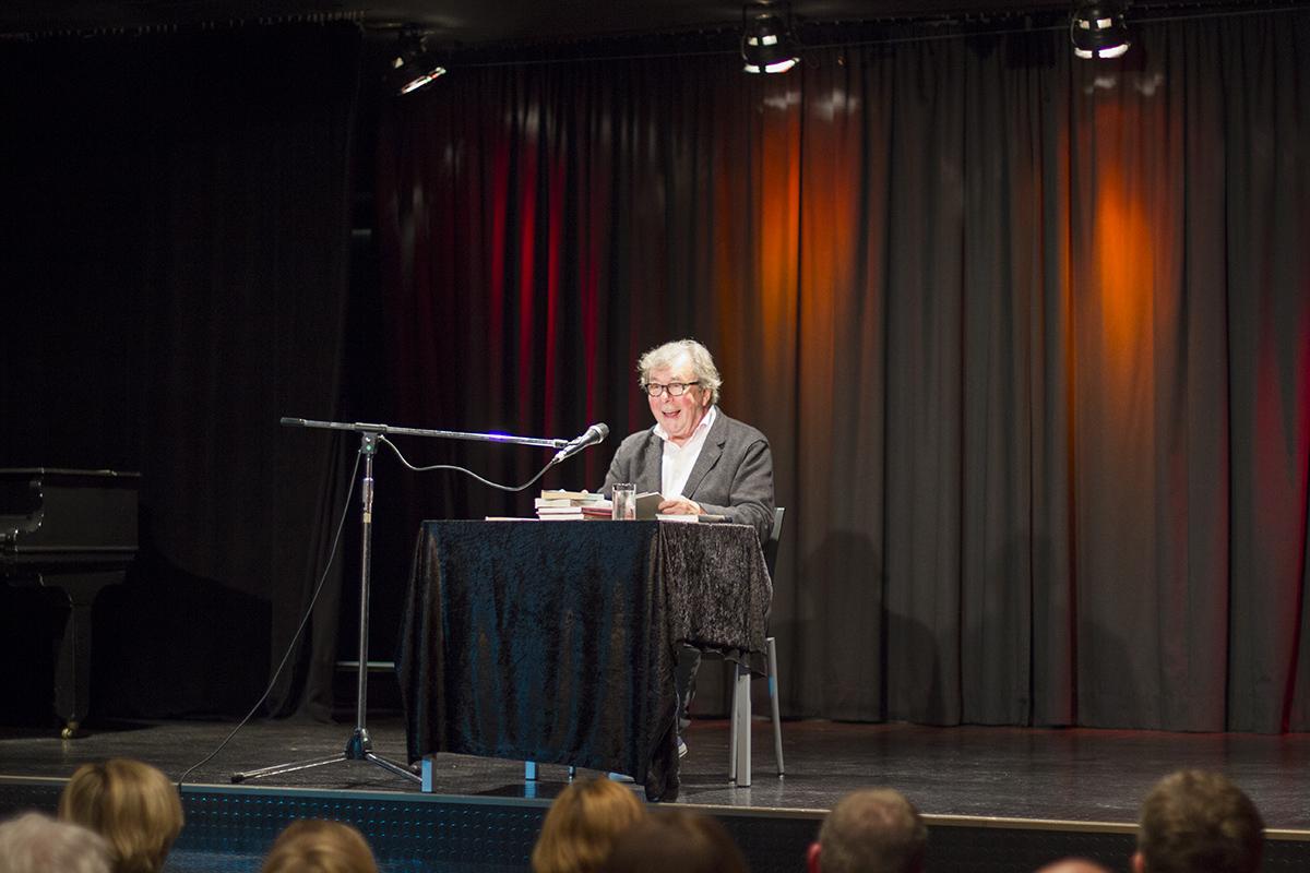 Professor Hellmuth Karasek im Kulturforum