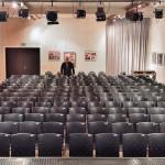 Kulturforum Saal front