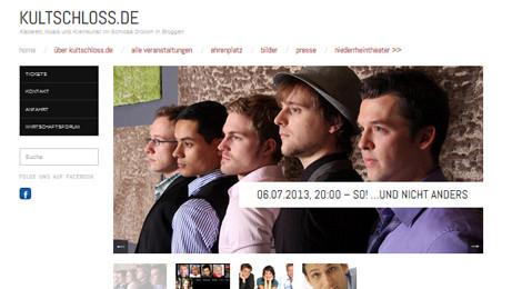 Neue Website des Kulturforums Schloss Dilborn